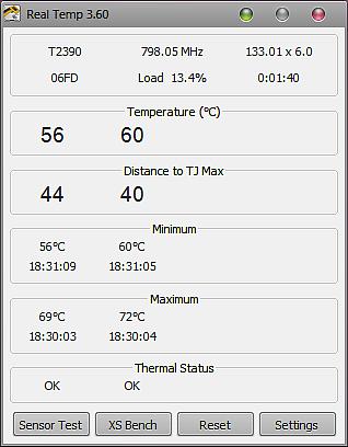 программа для отображения температуры процессора - фото 2