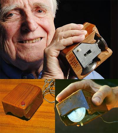 создатель первой компьютерной мышки Дуглас Карл Энгельбарт